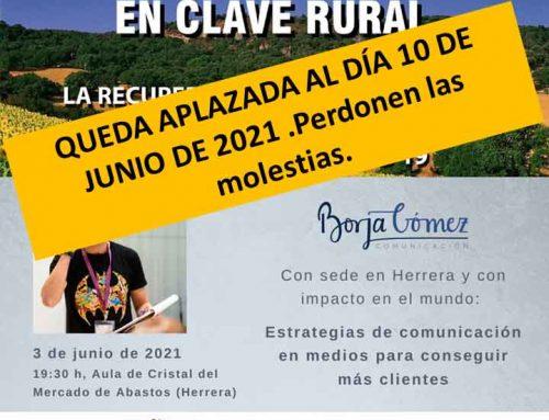 APLAZAMIENTO PONENCIA AL 10 DE JUNIO DE 2021.